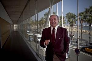 Antoni Miquel, Leslie, en el Hospital del Mar en septiembre del 2011.