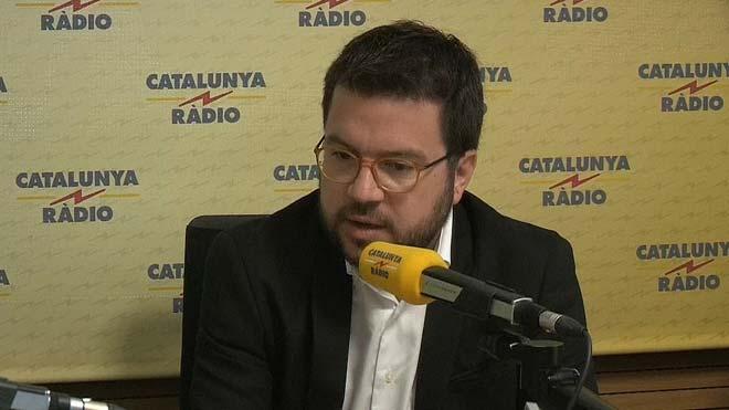 """Aragonès acusa Sánchez de buscar """"l'excusa perfecta"""" per negociar amb el PP i Cs"""