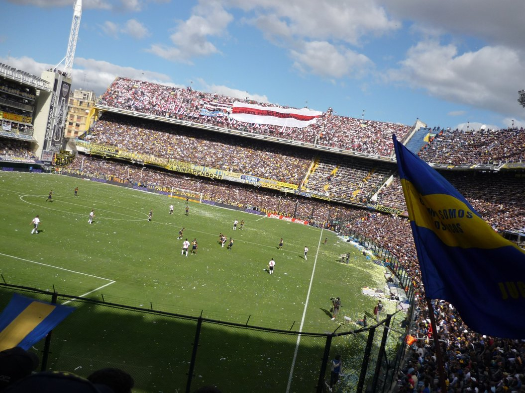 La Bombonera, estadio de Boca Junior.