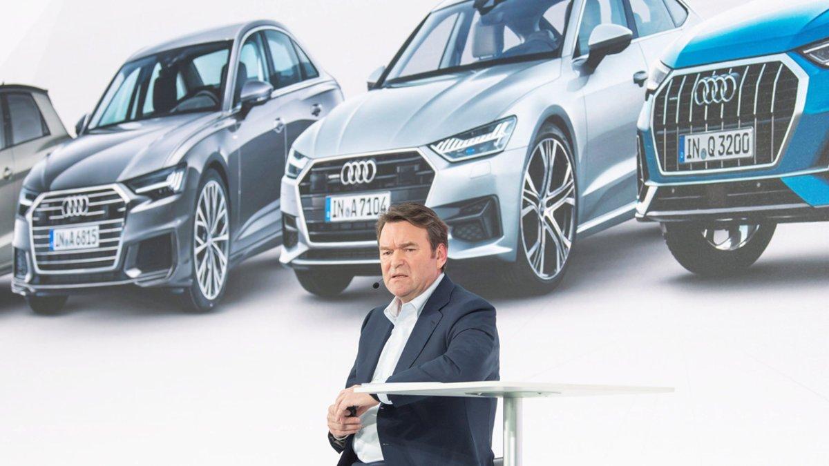 Bram Schot, presidente y consejero delegado de Audi.