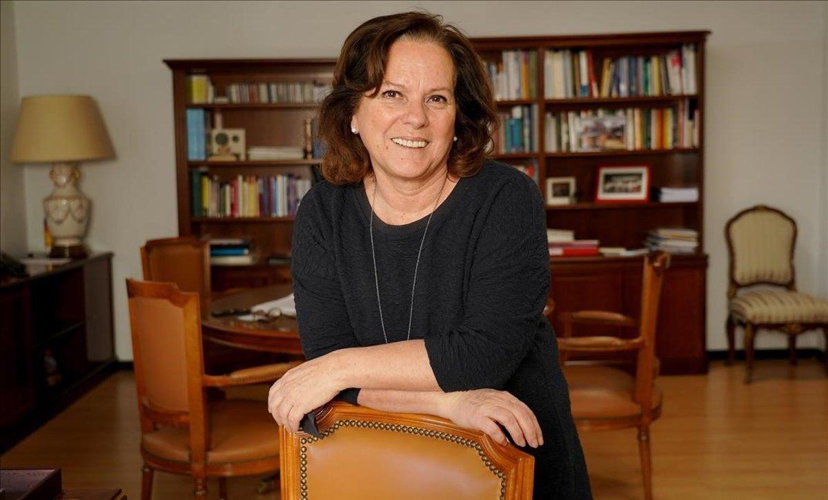 La delegada del Gobierno para el Plan Nacional sobre Drogas, Azucena Martí Palacios.