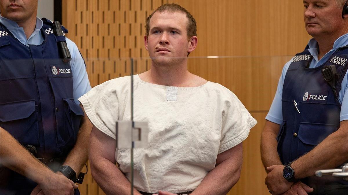 Brenton Tarrant, autor confeso de los ataques a dos mezquitas en Christchurch, Nueva Zelanda.