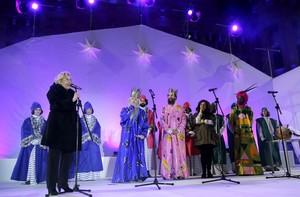 Cabalgata de los Reyes Magos en Madrid en 2016.