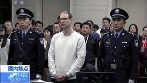 Robert Lloyd Schellenberg durante el juicio.