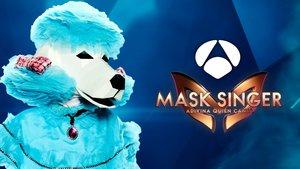Caniche, uno de las máscaras que protagonizarán el segundo programa de 'Mask Singer'.