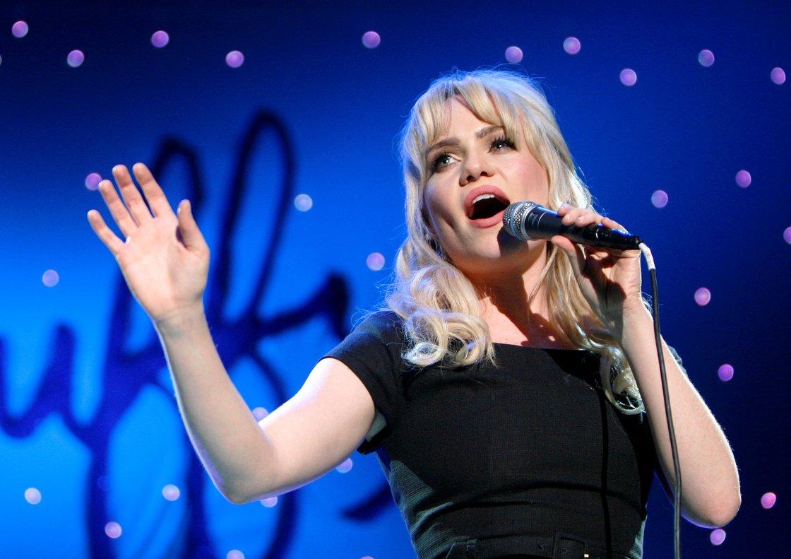 La cantante Duffy durante un concierto en Singapur, en el 2009.