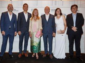 En la imagen, de izquierda a derecha: David Ribas, Carles Motas, Carmen Cervera,Viktor Marshev,Yulia Golubchikova y Pere Vila.