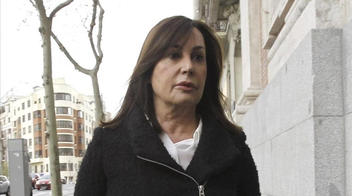 Carmen Martínez-Bordiú, duquesa de Franco.