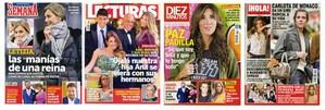Las revistas del corazón de la semana de la Inmaculada Concepción y la Constitución.