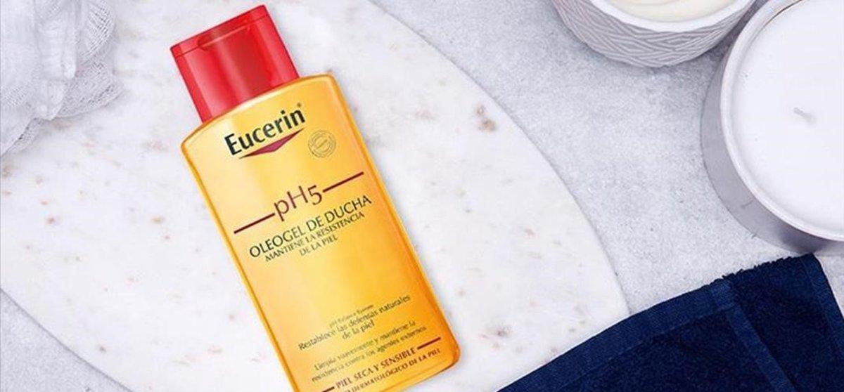 Oleo Gel de ducha de Eucerin.