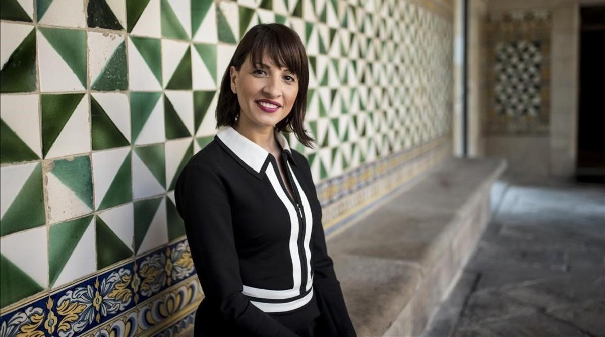 Dalia Ghanem-Yazbeck, en el Institut dEstudis Catalans, en Barcelona.