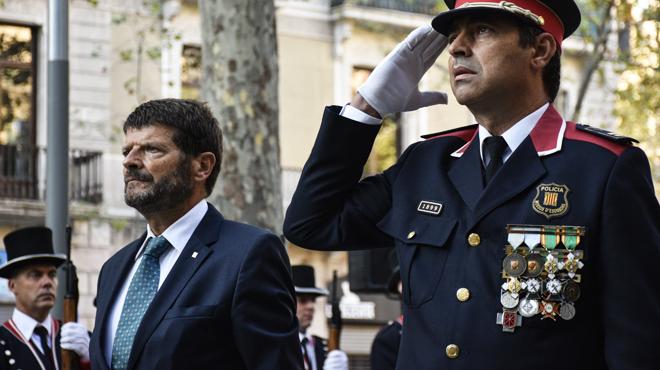 Els Mossos d'Esquadra, preocupats després de la dimissió del seu cap polític