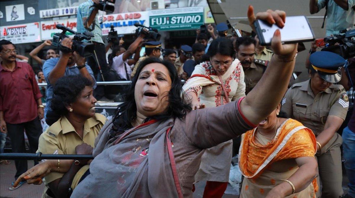 Revolución feminista en India