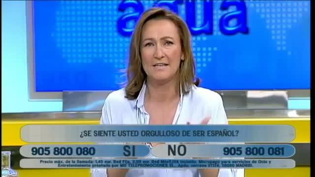 El cantant explica les seves preferències ideològiques en el programa Más claro, agua de la cadena de la Conferència Episcopal Espanyola