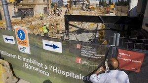 La Generalitat destinarà 9,6 milions a la construcció de la nova estació de l'L-5 a l'Hospitalet