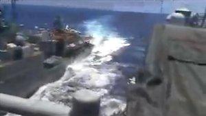 Resultado de imagen para Roce entre dos barcos de Rusia y Estados Unidos