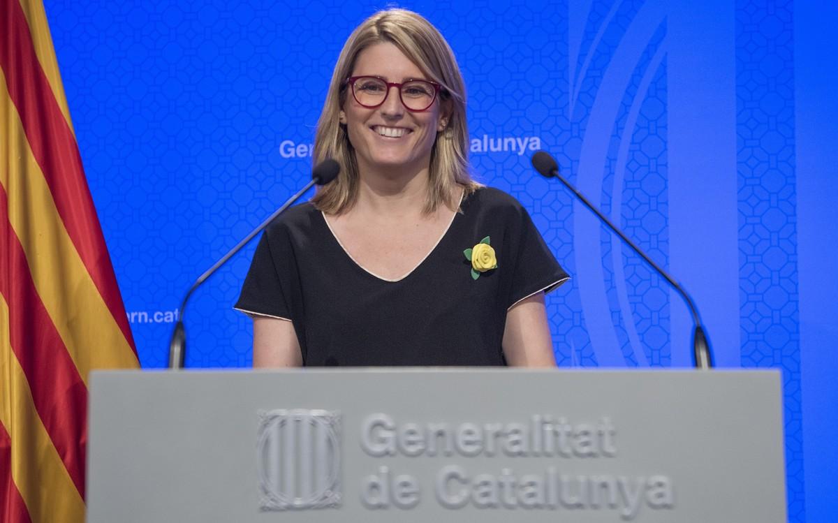Elsa Artadi, portavoz y 'consellera' de Presidencia de la Generalitat