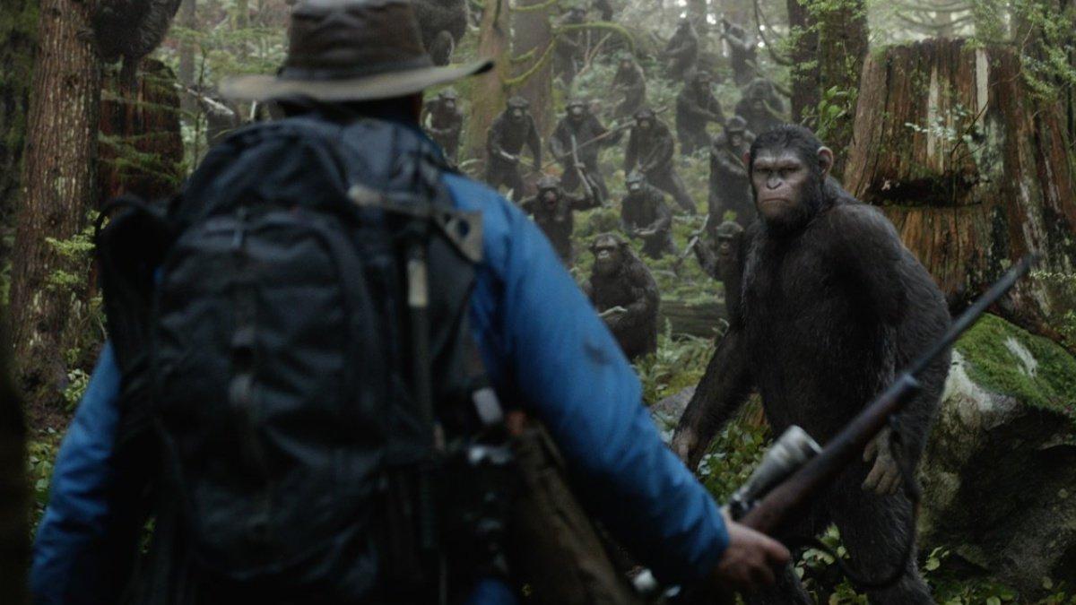 Escena de 'El amanecer del planeta de los simios'.