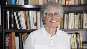 Francesca Masgoret, una de las tres únicas mujeres concejalas de Barcelona elegidas en las elecciones de 1979.