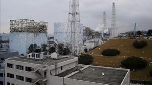 Incendio en uno de los reactores nucleares de Fukushima, en marzo del 2011.