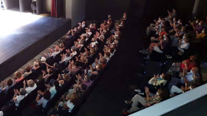 Función en el Teatro Goya, el domingo 20 septiembre
