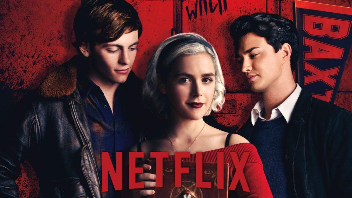 Imagen del poster oficial de la segunda parte de 'Las escalofriantes aventuras de Sabrina'.