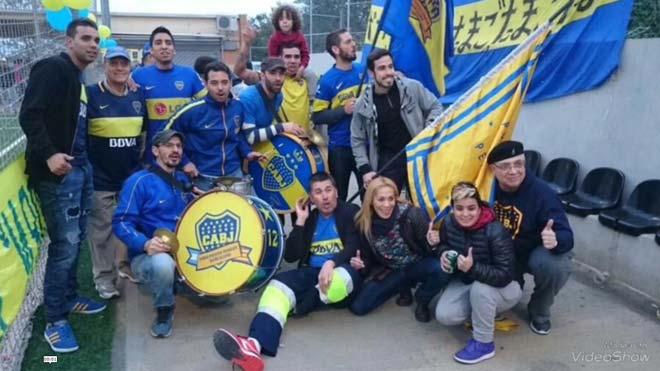 L'afició del Boca prendrà la plaça de Catalunya
