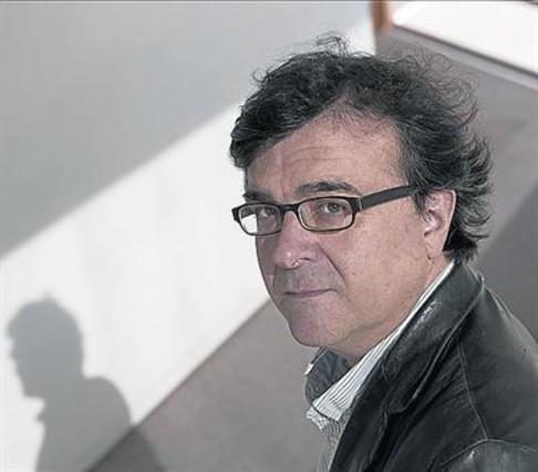Javier Cercas, el pasado noviembre en Barcelona.
