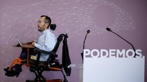 "Garzón y Echenique, citados por llamar ""nazis"" a dos jubilados de la marcha ultra que rodeó la asamblea de Zaragoza"