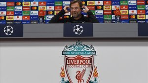Jürgen Klopp, en la rueda de prensa previa al Liverpool-Oporto.