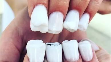 Las uñas 'muela' revolucionan Instagram
