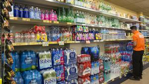 Lineal de un supermercado.
