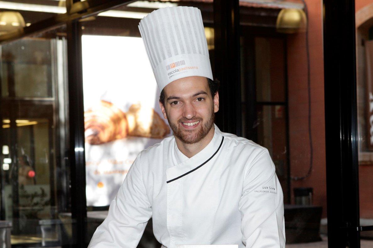 Lluís Costa, pastelero de Vallflorida Xocolaters.