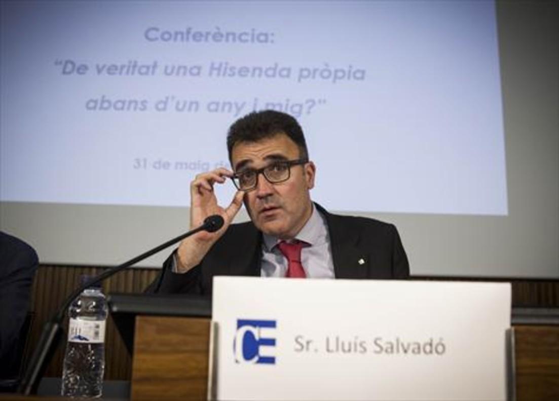 Lluís Salvadó, secretario de Hisenda de la Generalitat.