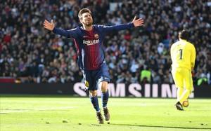 Messi silencia el Bernabéu (capítol....)