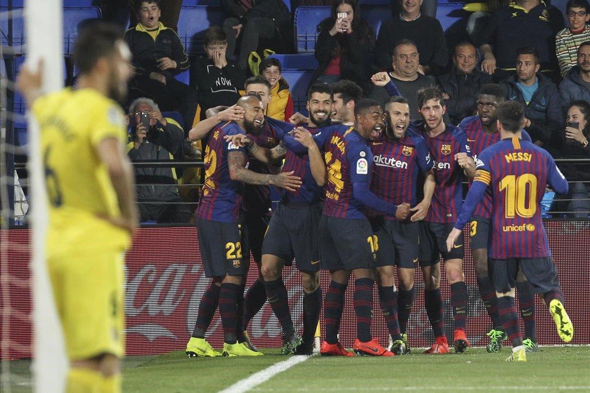 Embogit empat del Barça
