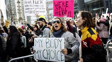 Cierre del Gobierno y protestas en el aniversario del primer año de Trump