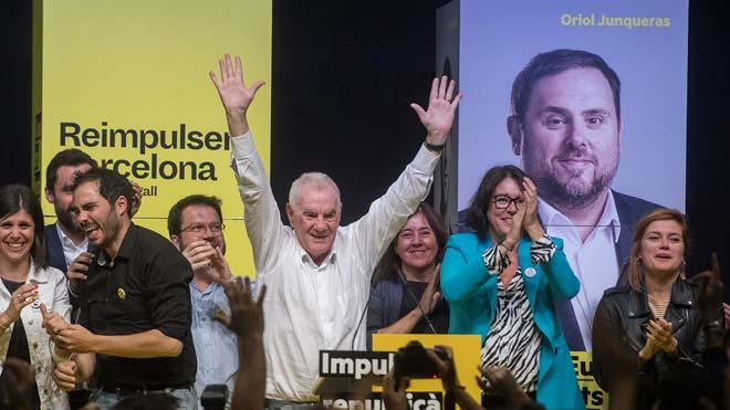 Maragall guanya Colau a Barcelona per tot just 5.000 vots i empaten a 10 regidors