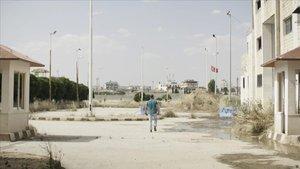 Marc Marginedas, en la frontera de Siria con Turquía.