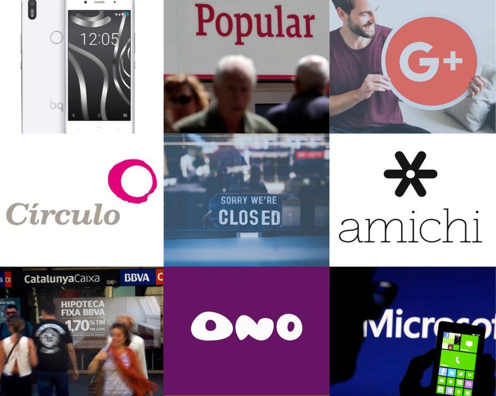 8 grandes marcas que desaparecieron en 2019