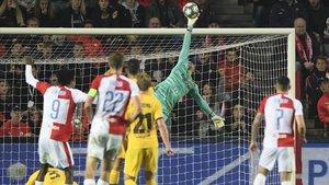 El desconcert continental del Barça