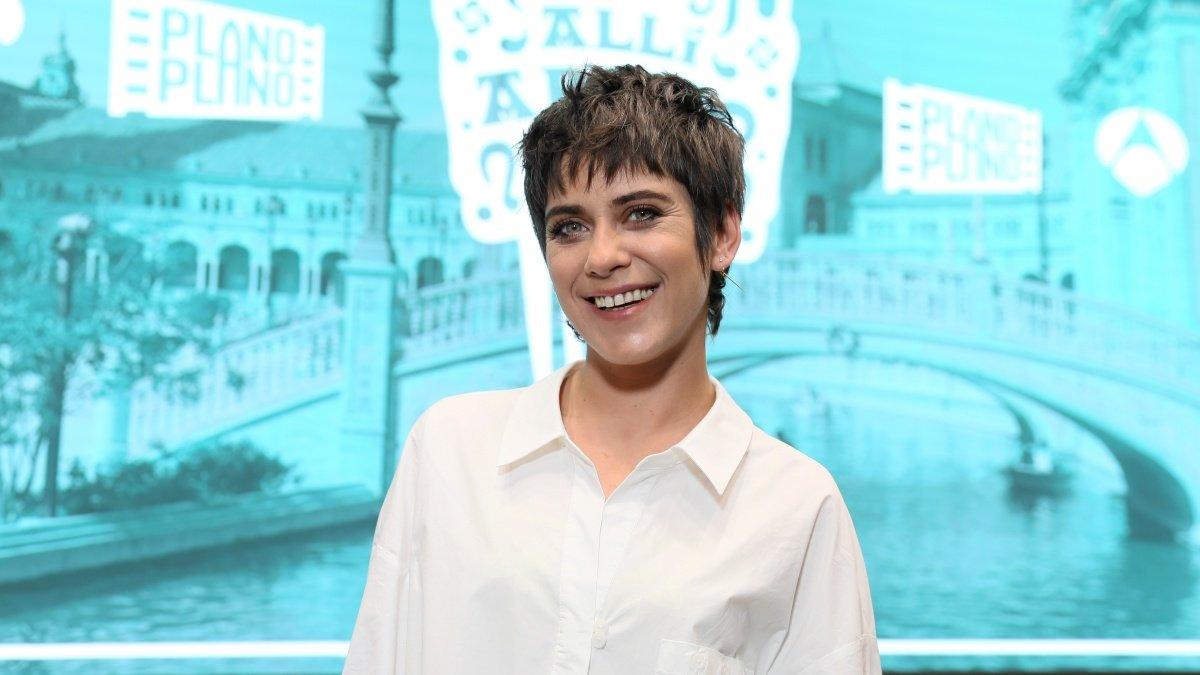 María León, protagonista de Allí Abajo, la comedia de Antena 3.