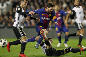 Messi en Mestalla
