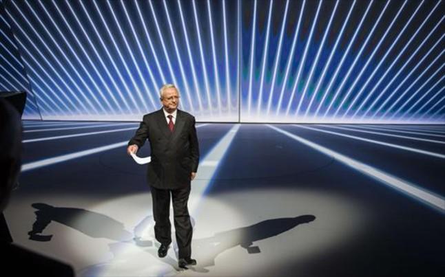 Martin Winterkorn, expresidente de Volkswagen, en la pasada edición del salón de Fráncfort.