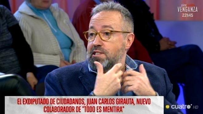 Girauta ficha por 'Todo es mentira' (Cuatro).