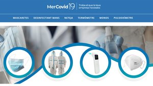 La Cambra llança una botiga 'online' per a la compravenda de material sanitari