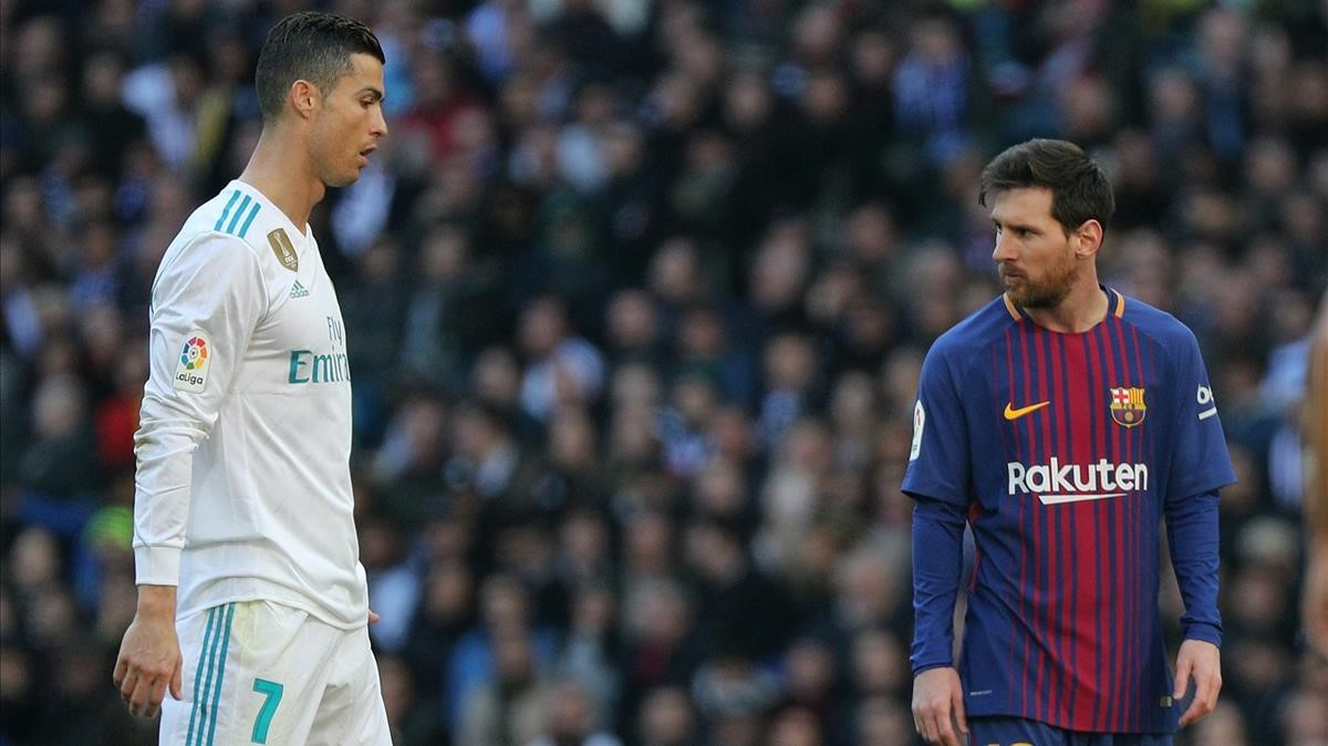 Messi (derecha), mejor que Cristiano según 'Marca'.