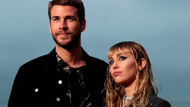 Miley Cyrus y Liam Hemsworth se separan tras ocho meses casados.