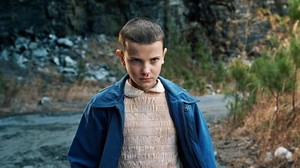 Millie Bobby Brown, en una imagen de Stranger things.