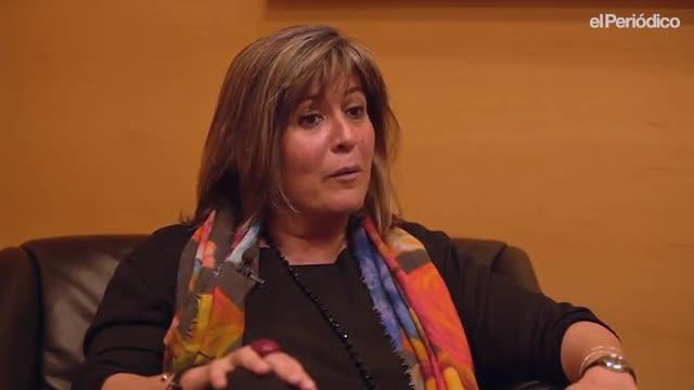 El minuto indiscreto de Núria Marín, alcaldesa de LHospitalet de Llobregat.